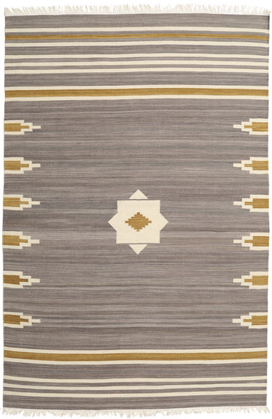 Tribal - Grey Rug 200X300 Authentic  Modern Handwoven Light Grey/Light Brown (Wool, India)