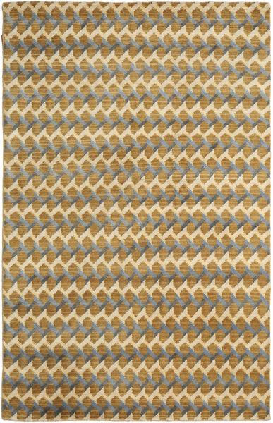 Sandnes Matto 270X360 Moderni Käsinsolmittu Vaaleanruskea/Ruskea Isot (Villa, Intia)