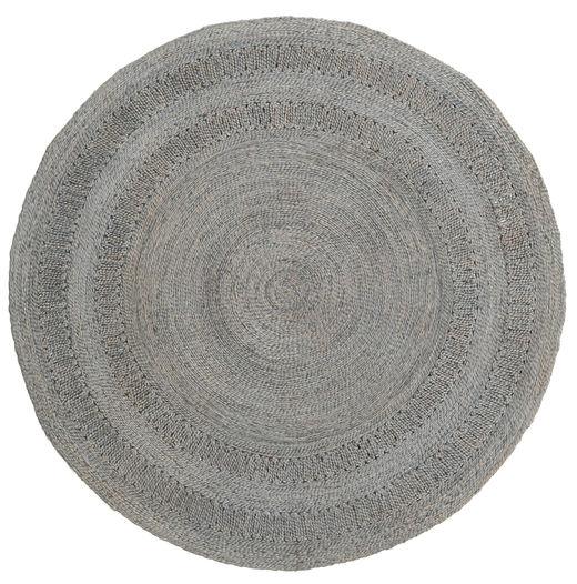Kex - Slate Dywan 225X225 Nowoczesny Tkany Ręcznie Kwadratowy Jasnoszary/Ciemnoszary ( Indie)