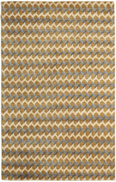 Sandnes Tapis 150X240 Moderne Fait Main Marron Clair/Beige (Laine, Inde)