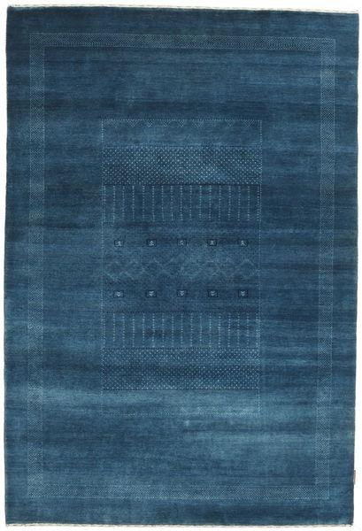 Gabbeh Loribaft Szőnyeg 149X220 Modern Csomózású Sötétkék (Gyapjú, India)