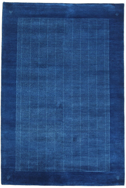 Gabbeh Loribaft Rug 120X179 Authentic  Modern Handknotted Dark Blue/Blue (Wool, India)