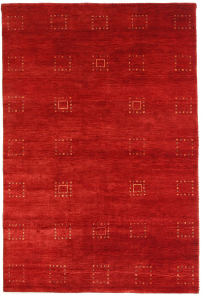 Gabbeh Loribaft Rug 117X175 Authentic  Modern Handknotted Rust Red (Wool, India)