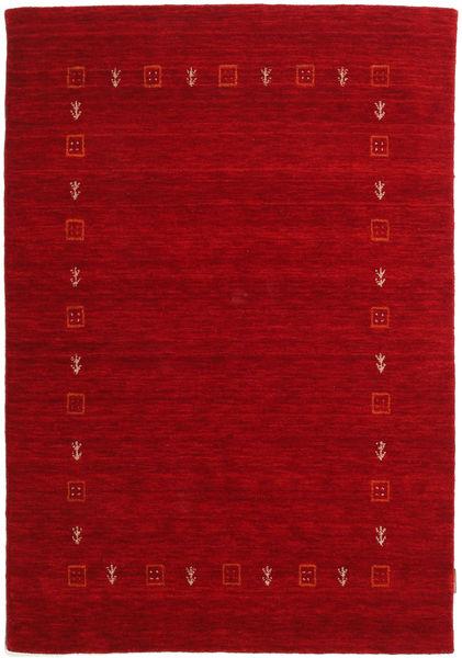 Gabbeh Indiai Szőnyeg 117X170 Modern Csomózású Sötétpiros/Piros (Gyapjú, India)