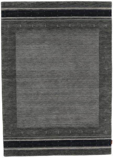 Gabbeh Indo Rug 171X239 Authentic  Modern Handknotted Dark Grey (Wool, India)