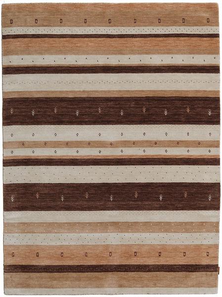 Gabbeh Indisk Teppe 179X241 Ekte Moderne Håndknyttet Lysbrun/Brun (Ull, India)
