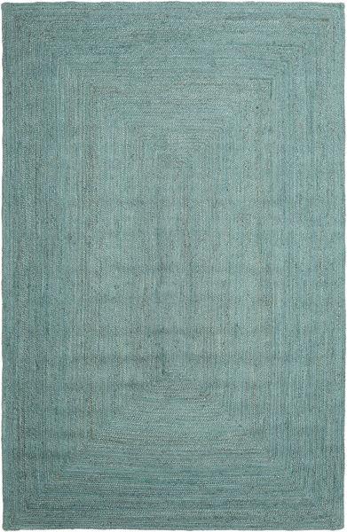 Frida Color - Turchese Tappeto 200X300 Moderno Tessuto A Mano Blu Turchese/Blu Turchese/Verde Pastello ( India)