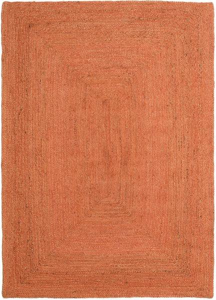 Frida Color - Arancione Tappeto 160X230 Moderno Tessuto A Mano Arancione ( India)