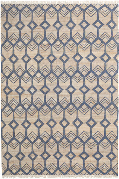 Trinni Rug 200X300 Authentic  Modern Handwoven Light Brown/Light Grey ( India)