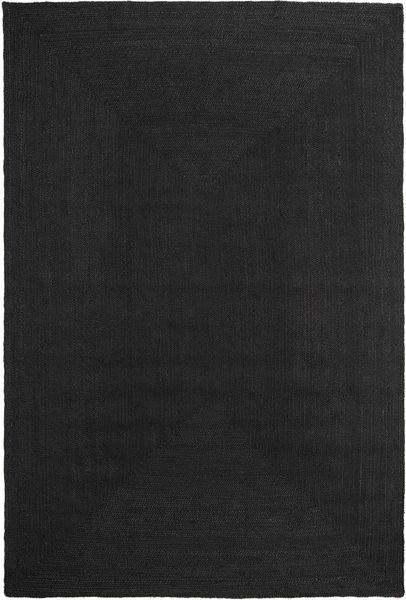 Frida Color - Black Rug 200X300 Authentic  Modern Handwoven Black ( India)