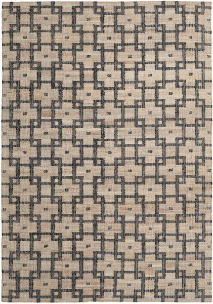 Tudor Tapis 200X300 Moderne Tissé À La Main Gris Clair/Gris Foncé ( Inde)