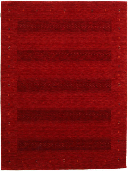 Gabbeh Indiai Szőnyeg 177X236 Modern Csomózású Sötétpiros/Piros (Gyapjú, India)