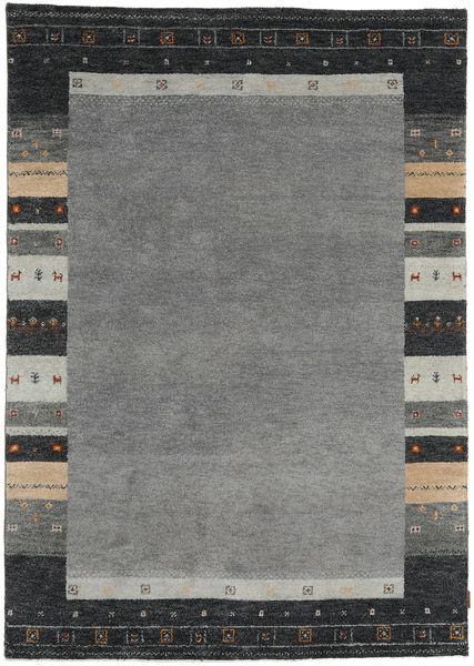 Gabbeh Indisk Teppe 169X239 Ekte Moderne Håndknyttet Mørk Grå/Svart (Ull, India)
