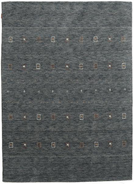 Gabbeh Indiai Szőnyeg 179X247 Modern Csomózású Sötétszürke/Kék (Gyapjú, India)