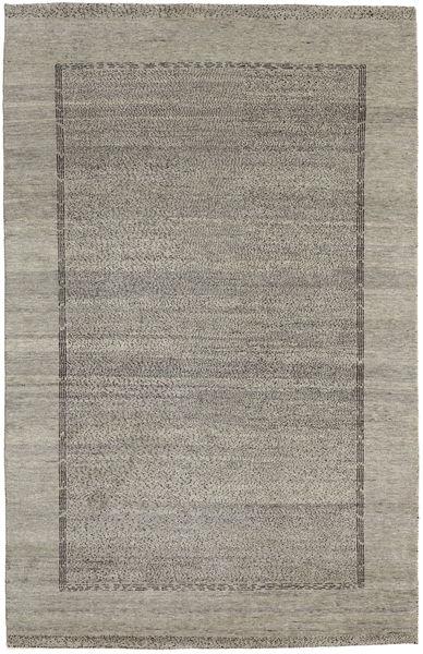 Gabbeh Loribaft Rug 160X251 Authentic  Modern Handknotted Light Grey/Dark Grey (Wool, India)