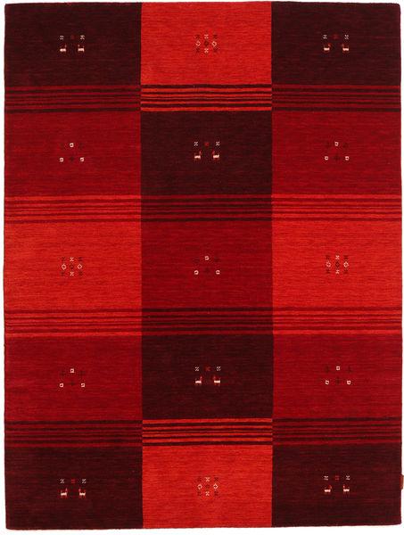Gabbeh Indo Rug 178X235 Authentic  Modern Handknotted Dark Red/Crimson Red (Wool, India)