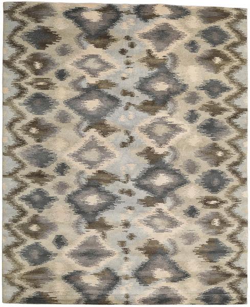 Himalaya Rug 249X306 Authentic  Modern Handknotted Light Brown/Dark Grey (Wool, India)