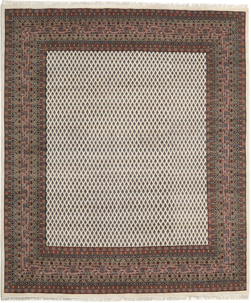 Mir Indo Rug 245X304 Authentic  Oriental Handknotted Light Brown/Dark Grey (Wool, India)