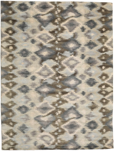 Himalaya Rug 300X397 Authentic  Modern Handknotted Light Grey/Light Brown Large (Wool, India)