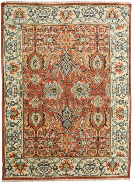 Kazak Modern Rug 274X374 Authentic  Oriental Handknotted Rust Red/Dark Grey Large (Wool, India)