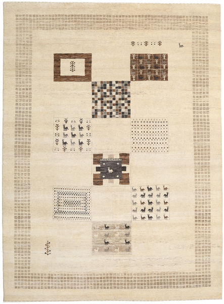 Gabbeh Loribaft Rug 248X336 Authentic  Modern Handknotted Beige/Light Brown (Wool, India)