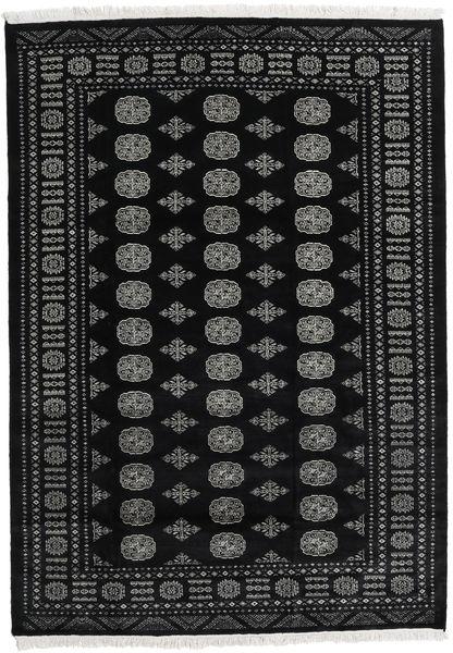 Pakistan Bokhara 2Ply Rug 171X243 Authentic  Oriental Handknotted Black/Dark Grey (Wool, Pakistan)