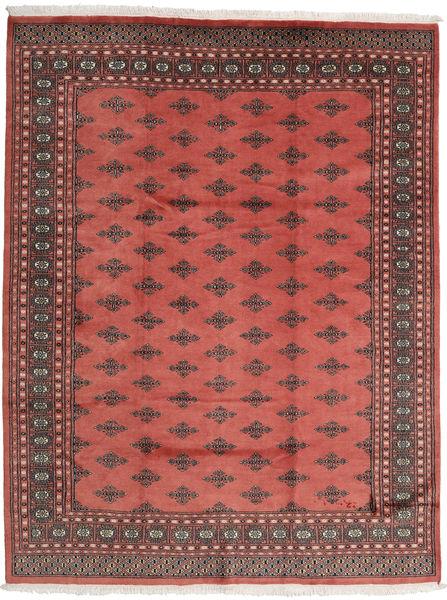 Pakistan Bokhara 2Ply Matto 201X259 Itämainen Käsinsolmittu Ruoste/Tummanpunainen (Villa, Pakistan)