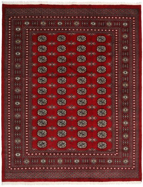 Pakistan Bokhara 2Ply Matto 202X255 Itämainen Käsinsolmittu Tummanpunainen/Punainen (Villa, Pakistan)