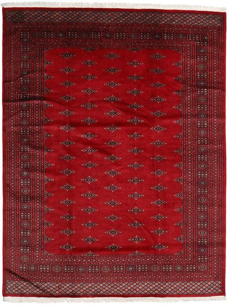 Pakistan Bokhara 2Ply Matto 198X256 Itämainen Käsinsolmittu Punainen/Tummanpunainen (Villa, Pakistan)