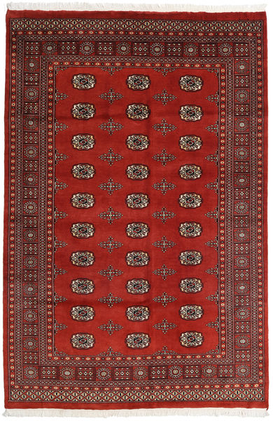 Pakistan Bokhara 2Ply Matto 164X247 Itämainen Käsinsolmittu Ruoste/Tummanpunainen (Villa, Pakistan)