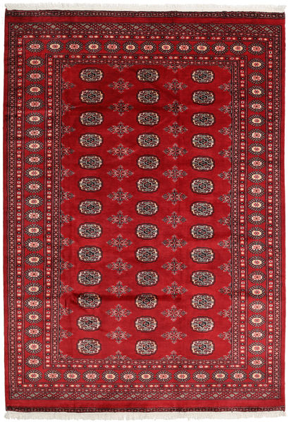 Pakistan Bokhara 2Ply Rug 173X248 Authentic  Oriental Handknotted Dark Red/Crimson Red (Wool, Pakistan)