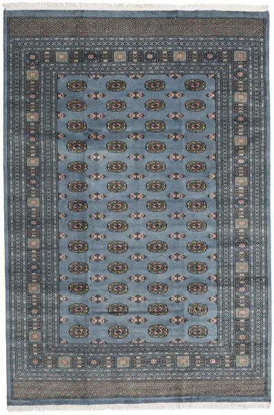 Pakistan Bokhara 2Ply Rug 203X300 Authentic  Oriental Handknotted Dark Grey/Dark Blue (Wool, Pakistan)