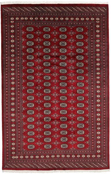 Pakistan Bokhara 2Ply Matto 198X308 Itämainen Käsinsolmittu Tummanpunainen/Tummanruskea (Villa, Pakistan)