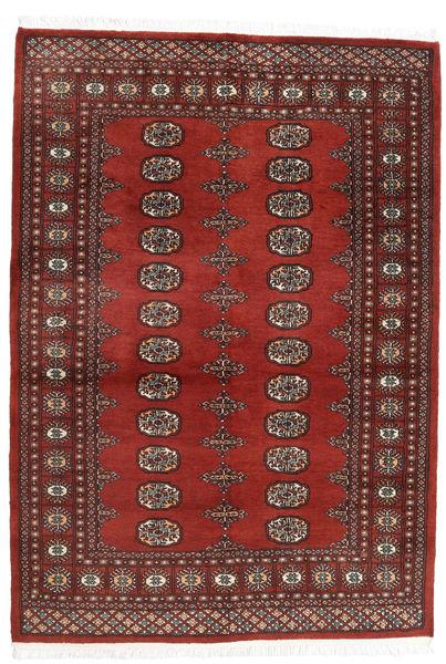 Pakistan Bokhara 2Ply Matto 137X196 Itämainen Käsinsolmittu Tummanpunainen/Ruskea (Villa, Pakistan)