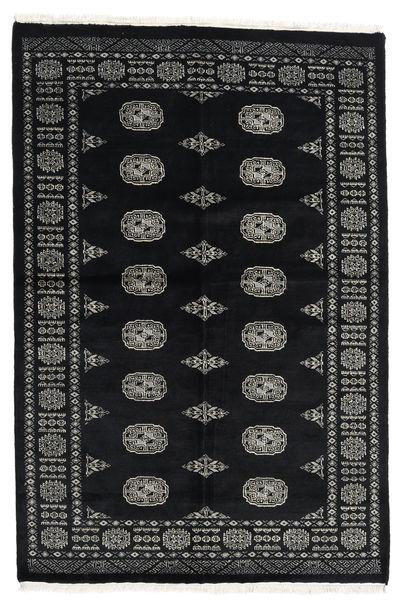Pakistan Bokhara 2Ply Rug 134X202 Authentic  Oriental Handknotted Black/Dark Grey (Wool, Pakistan)