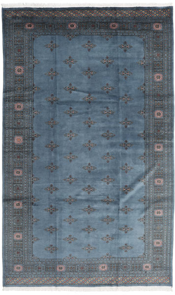 Pakistan Bokhara 3Ply Rug 199X333 Authentic  Oriental Handknotted Dark Blue/Blue (Wool, Pakistan)