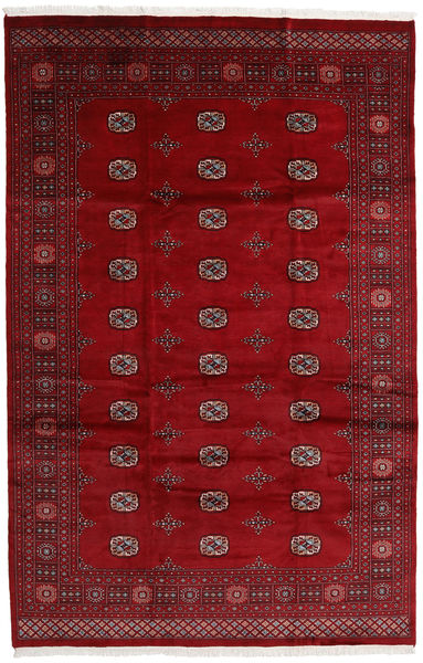 Pakistan Bokhara 3Ply Teppe 203X315 Ekte Orientalsk Håndknyttet Mørk Rød/Rød (Ull, Pakistan)