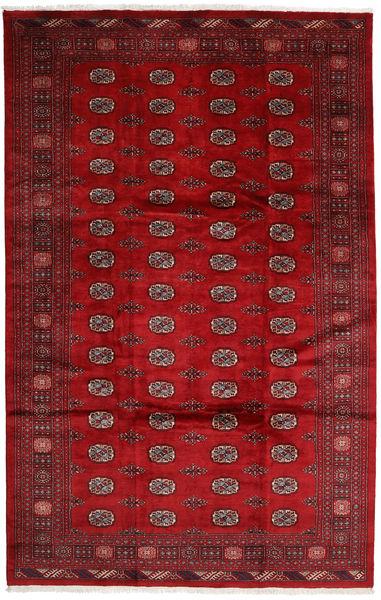 Pakistan Bokhara 3Ply Rug 202X315 Authentic  Oriental Handknotted Crimson Red/Dark Red (Wool, Pakistan)