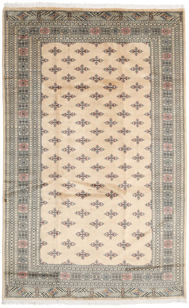 Pakistan Bokhara 3Ply Rug 197X313 Authentic  Oriental Handknotted Beige/Light Grey (Wool, Pakistan)
