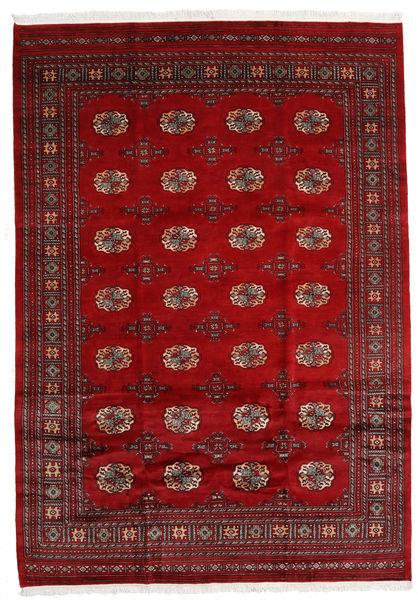 Pakistan Bokhara 3Ply Rug 202X289 Authentic  Oriental Handknotted Dark Red/Crimson Red (Wool, Pakistan)