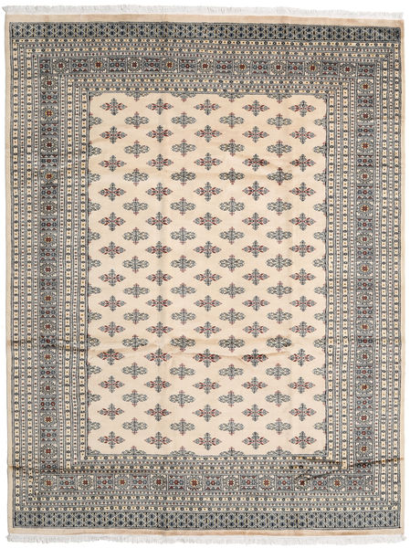 Pakistan Bokhara 2Ply Rug 247X322 Authentic  Oriental Handknotted Beige/Light Grey (Wool, Pakistan)