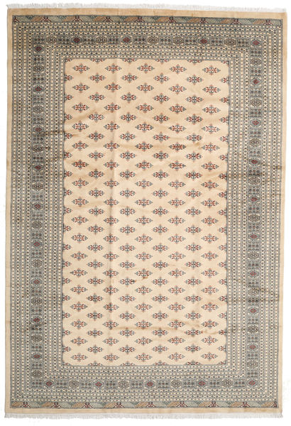 Pakistan Bokhara 3Ply Rug 247X359 Authentic  Oriental Handknotted Beige/Light Grey (Wool, Pakistan)
