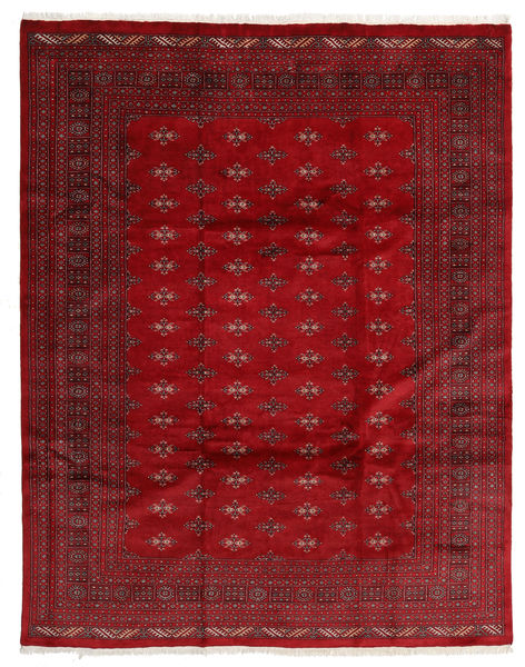Pakistan Bokhara 3Ply Rug 241X306 Authentic  Oriental Handknotted Dark Red/Crimson Red (Wool, Pakistan)