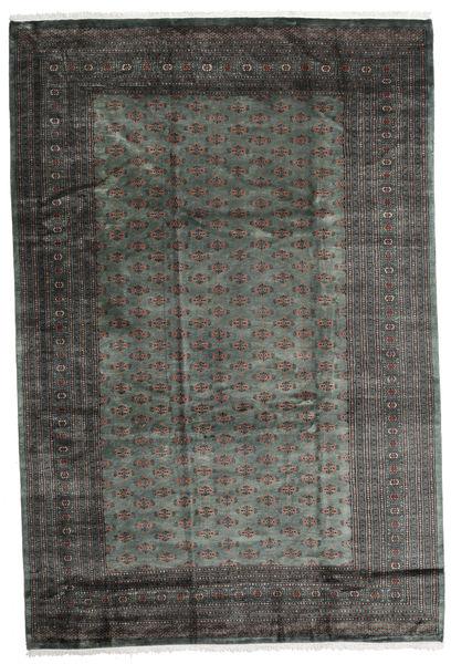 Pakistan Bokhara 3Ply Rug 245X366 Authentic  Oriental Handknotted Dark Grey/Black (Wool, Pakistan)
