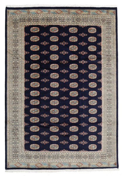 Pakistan Bokhara 3Ply Rug 207X299 Authentic  Oriental Handknotted Dark Purple/Light Brown (Wool, Pakistan)