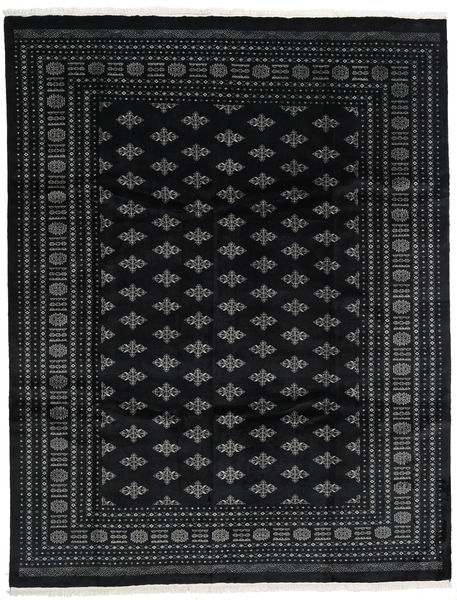 Pakistan Bokhara 3Ply Rug 244X316 Authentic  Oriental Handknotted Black/Dark Grey (Wool, Pakistan)