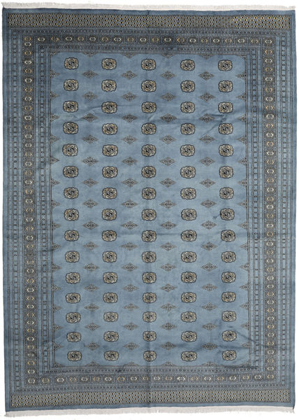 Pakistan Bokhara 2Ply Rug 304X413 Authentic  Oriental Handknotted Dark Grey/Blue Large (Wool, Pakistan)