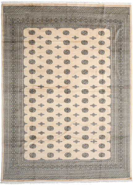 Pakistan Bokhara 2Ply Rug 310X424 Authentic  Oriental Handknotted Beige/Light Grey/Dark Grey Large (Wool, Pakistan)