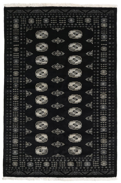 Pakistan Bokhara 3Ply Rug 138X208 Authentic  Oriental Handknotted Black (Wool, Pakistan)