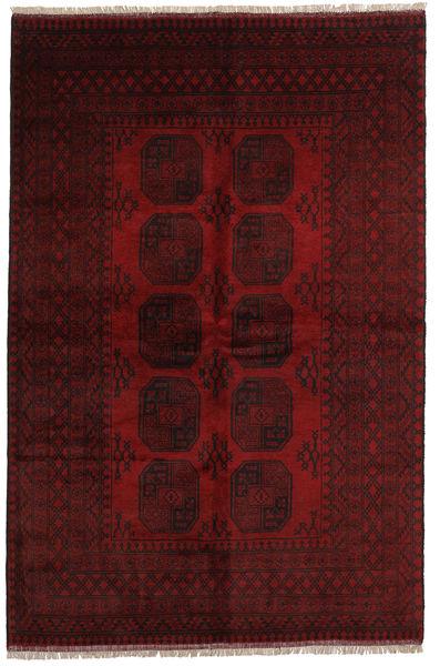 Afgan Dywan 162X246 Orientalny Tkany Ręcznie Ciemnobrązowy/Ciemnoczerwony (Wełna, Afganistan)